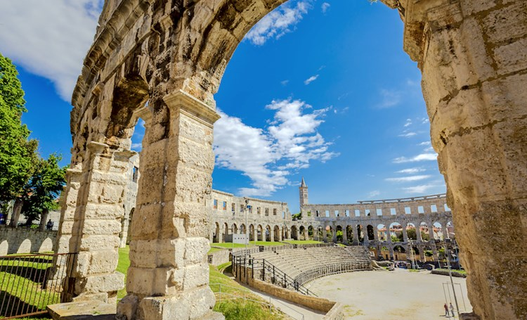 Rich architectural heritage of Istria