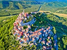 Hilltop towns in Istria