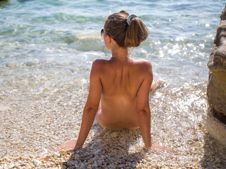 Nudist beaches in Croatia