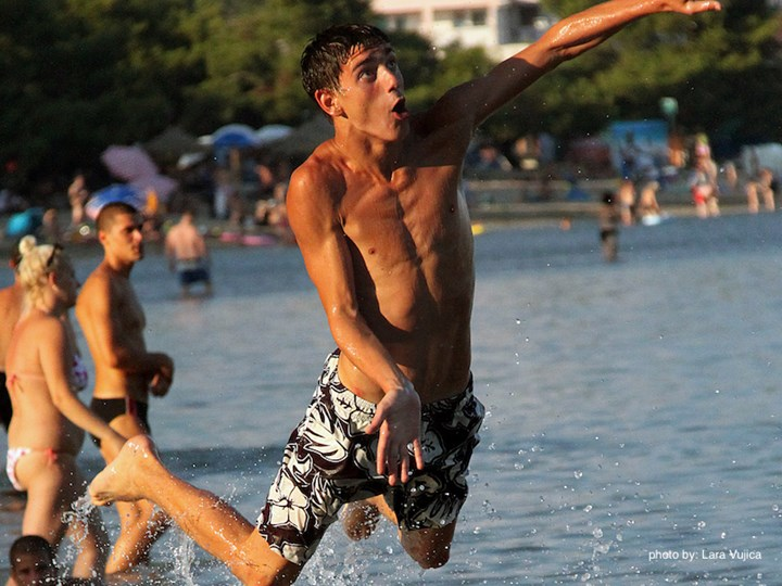 Stay active on your holiday in Croatia, try out picigin!