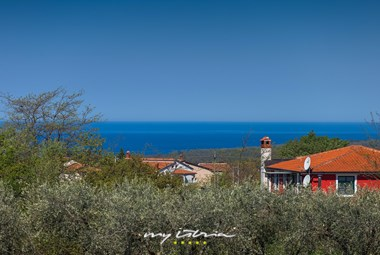 Enjoy the sea view from the balcony in Villa Stopic