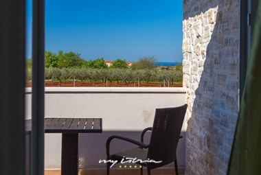 Seating area with sea view - Villa Stopic