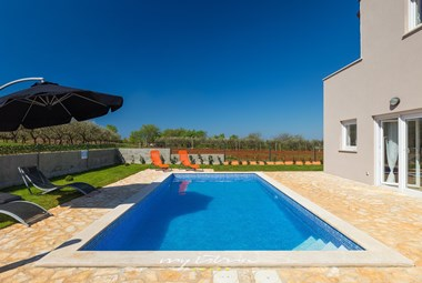 Villa Stopic is surrounded by olive gorves and offers a private pool