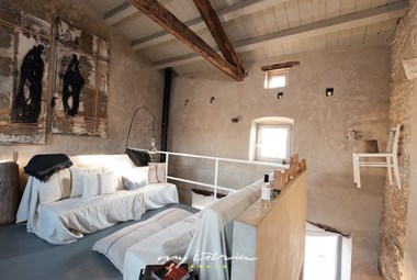 Comfy living area with a rustic touch - Villa Storija in Central Istria