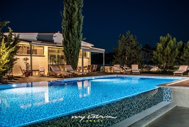 Villa Breg features a 60 square meter private pool