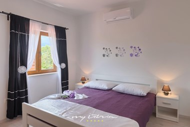 Comfortable bedroom with A/C