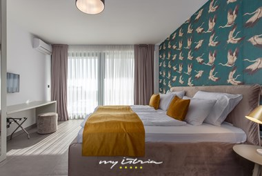 Modern interior design of the bedrooms in Villa Eleven for your wonderful holidays