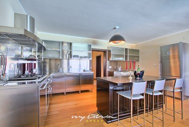Spacious fully equipped kitchen in the villa