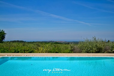 Villa´s gorgeous pool and surrounding