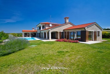 Lovely villa with private pool in Istria