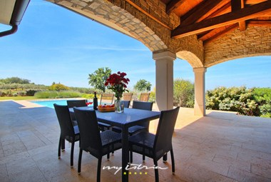 Enjoyable dining area on villa´s terrace