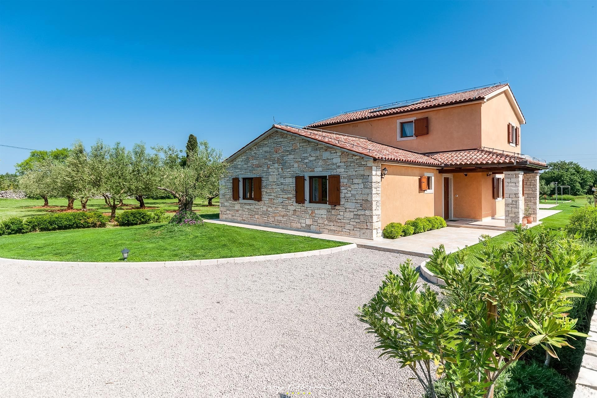 Complete 1 Pers Slaapkamer.Villa Oliveta In Pula For Rent My Istria