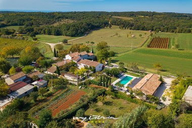 Villa Cipresso is located in peaceful Istrian countryside