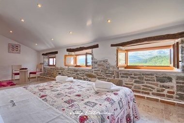 Double bedroom on the 2nd floor of the 4th house in Villa Denis with ensuite bathroom and a beautiful view