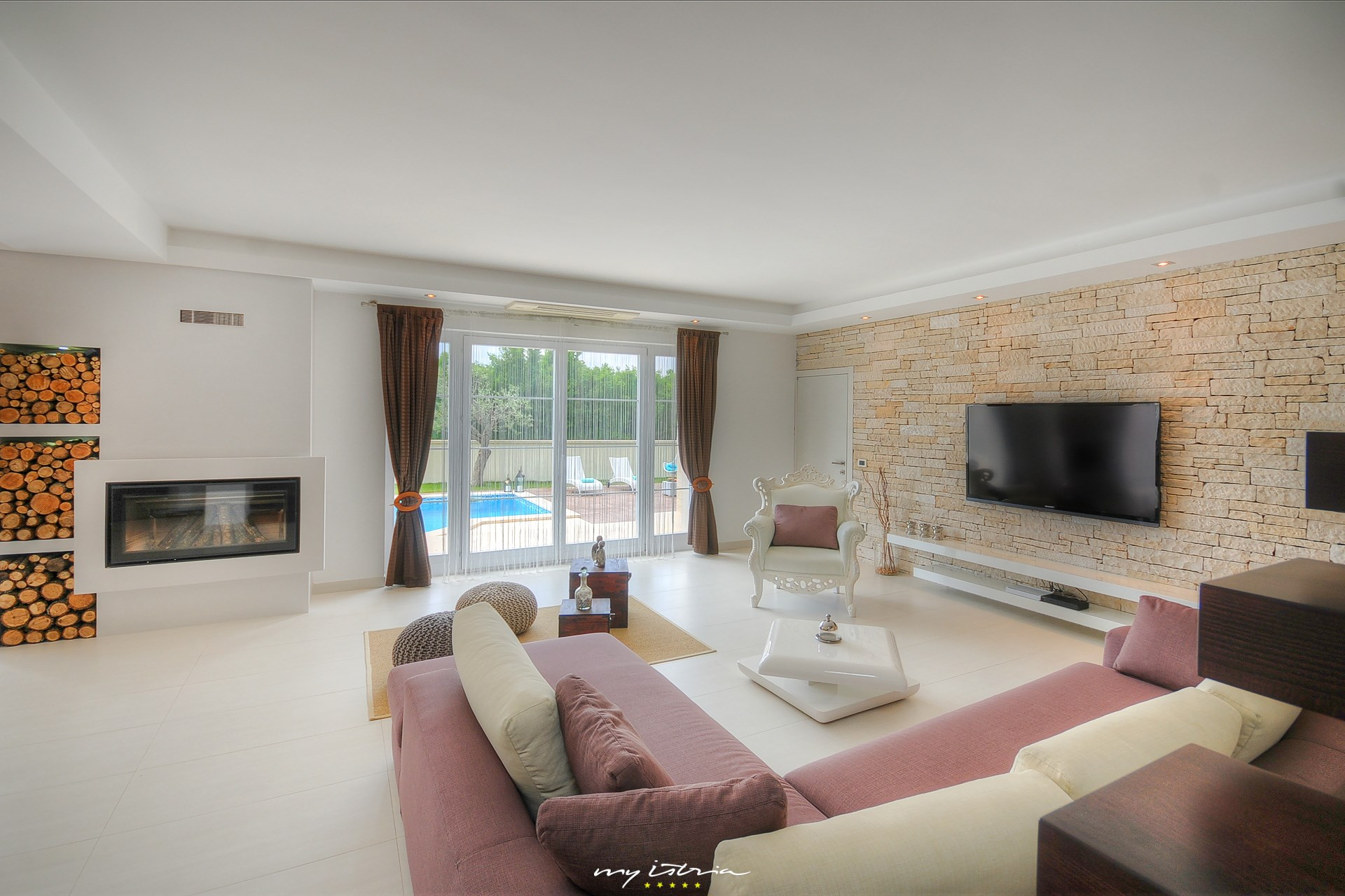 Villa Hedone Orlici in Central Istria for rent | My Istria