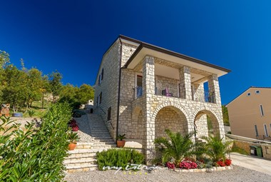 Charming stone villa with pool in Kvarner