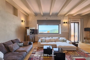 Cosy living room in the villa