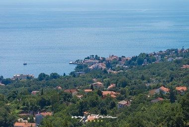 Beautiful sea view from Villa Edelweiss
