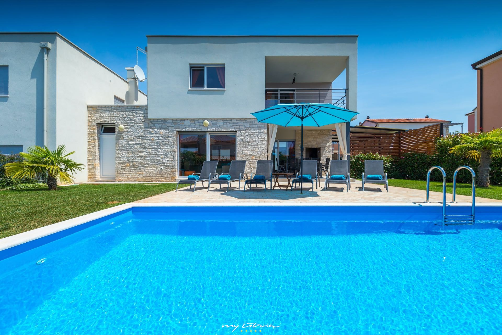 Villa sky dream in novigrad for rent my istria for My villa