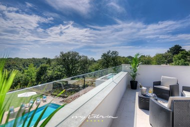 Amazing view from the villa's roof deck