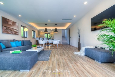 Bright and spacious ground floor of our luxury villa