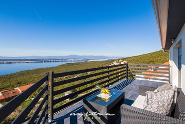 Relax on one of villa´s balconies and enjoy the fabulous view