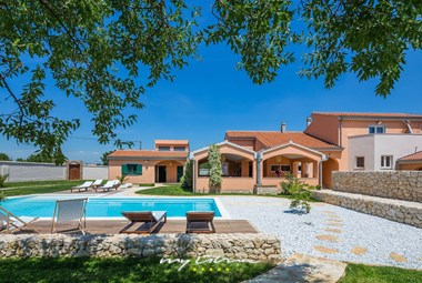 Beautiful and relaxing pool area of Villa Portulaca near Zadar