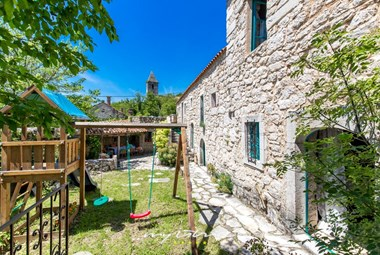 The youngest guests will be thrilled with the playground in Villa Belga