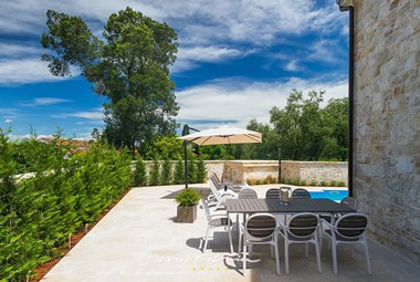 Enjoy outdoor dining on villa´s  lovely terrace