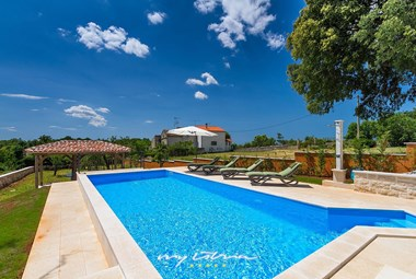 Beautiful pool in villa´s tended garden
