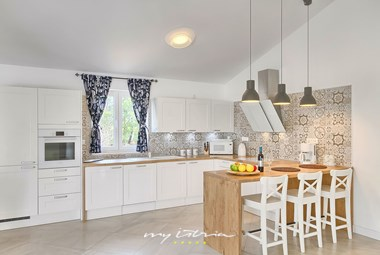 Fully equipped kitchen on villa´s ground floor