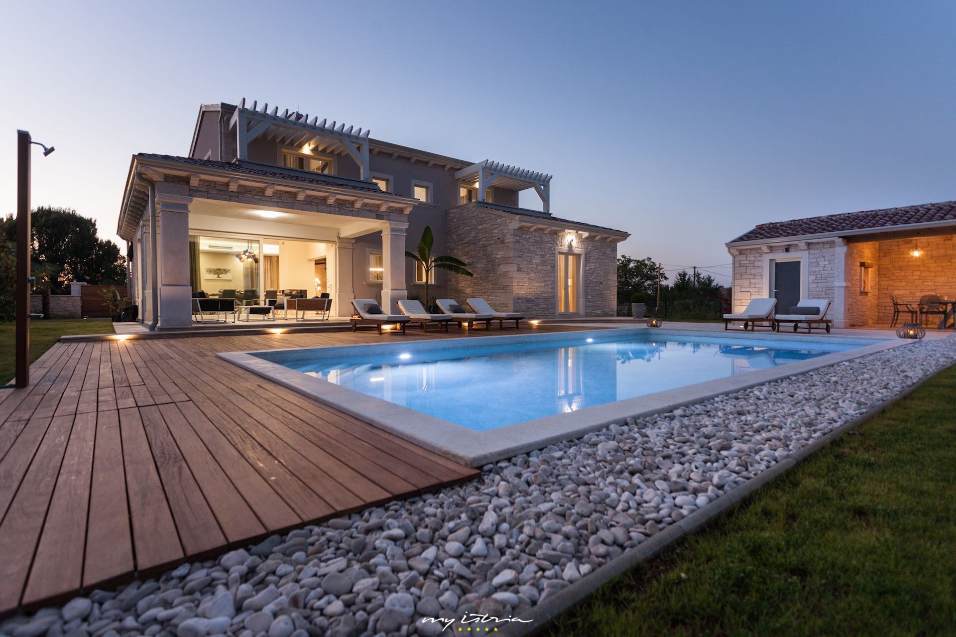Villa Gregi In Central Istria For Rent My Istria