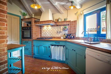 Lovely kitchen in the villa
