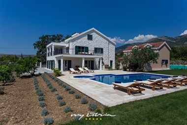 Enchanting villa Mir with private pool and vineyard in Pula