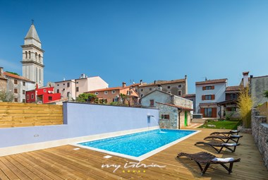 Charming villa with private pool in traditional Istrian village