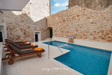 Enjoy your private pool in beautiful surrounding