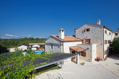 Villa San Vincenzo with private pool in Central Istria
