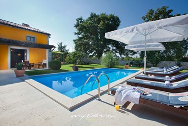 Beautiful villa with private pool in Central Istria