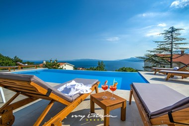 Sea view from the villa´s pool