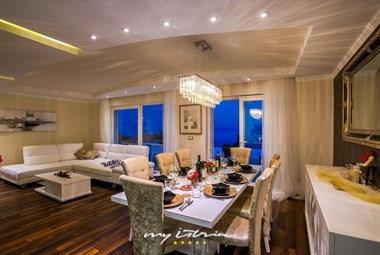 Luxury interior in villa in Opatija