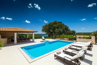 Enjoy the pool while staying in this fabulous villa