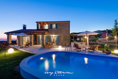 Wonderful villa with pool in Istria