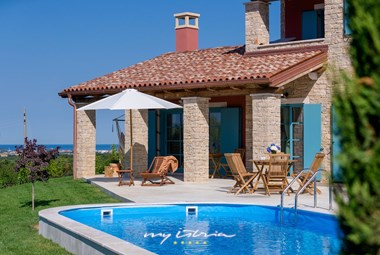 Villa Kokola with private pool near Umag