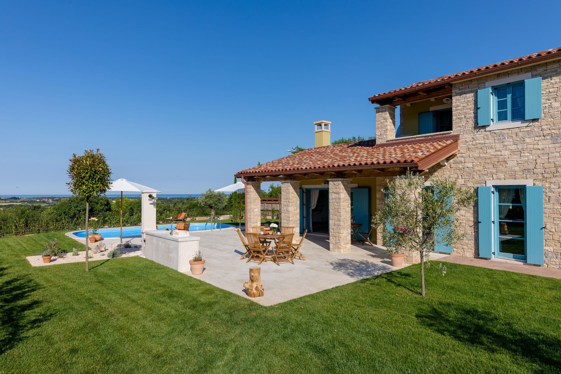 Villa With Private Pool Near Umag ...