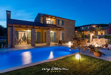 Magnificent villa with pool in Istria