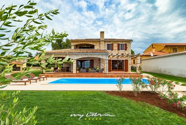 Villa Angelica is a modern beautiful stone house