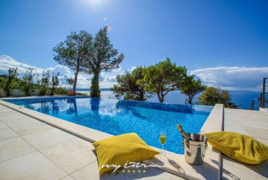 Stunning view from Villa Yanko in Makarska
