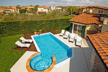 Stylish villa with private pool in Istria