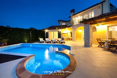 Fabulous pool area of the villa