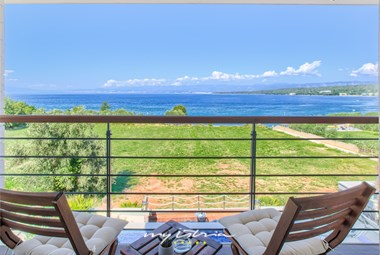 Stunning sea view from villa´s balcony